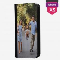 Benutzerdefinierte iPhone X XS Hülle mit einem einzigen horizontalen Flip