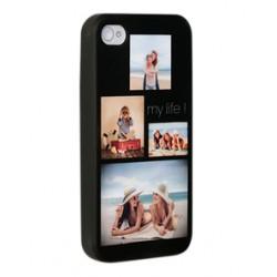 Coque silicone iPhone 4/4s personnalisée avec côtés imprimés