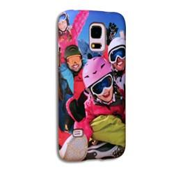 Coque silicone Galaxy S5 mini personnalisée avec côtés imprimés
