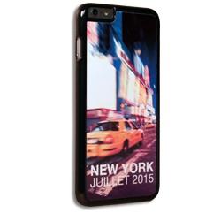 Coque iPhone 6 Plus personnalisée avec côtés rigides unis