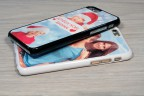 Coque iPhone X XS personnalisée avec côtés rigides unis