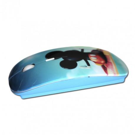 Lakokine blue customizable wireless mouse