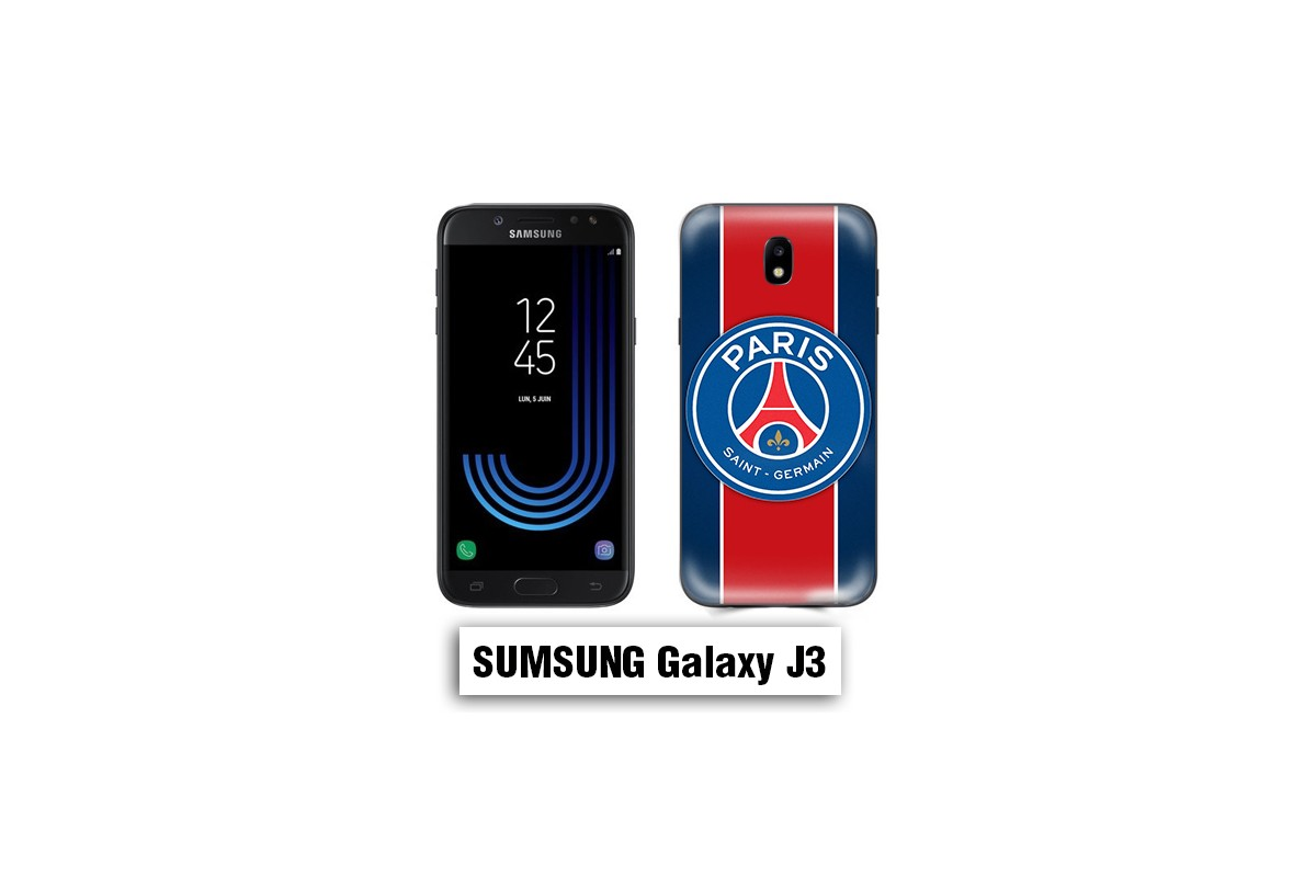 Coque Samsung J3 2017 logo PSG Paris Saint Germain - Lakokine