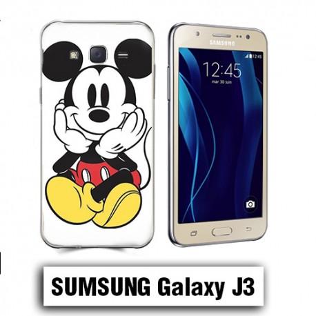 Coque Samsung J3 2016 Mickey Disney Couleur - Lakokine