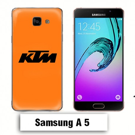 Coque Samsung A5 Logo KTM Orange
