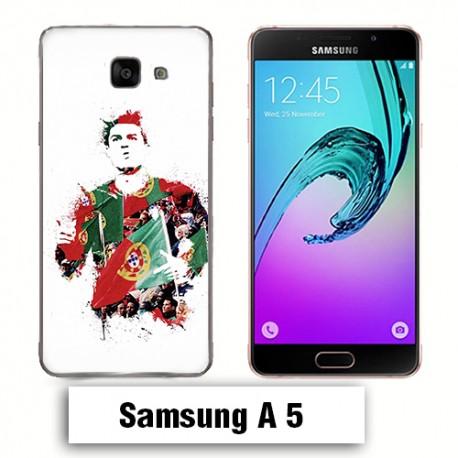 Coque Samsung A5 Cristiano Ronaldo Português
