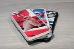 Coque iPhone XR personnalisée avec côtés silicones unis