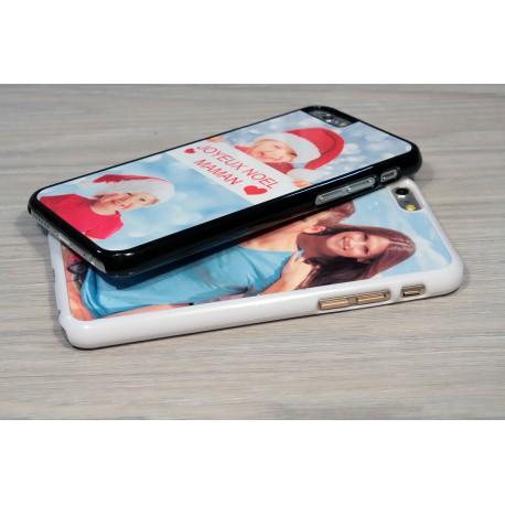 Coque iPhone XS MAX personnalisée avec côtés rigides unis