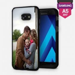 Coque Galaxy A5 2017 personnalisée avec côtés silicone lakokine