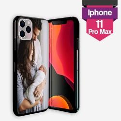 Personalisierte iPhone 11 Pro Max Hülle mit Silikonseiten