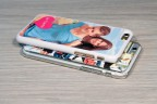Personalized iPhone 12 case with silicone sides