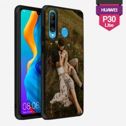 Huawei P30 Lite personalized hard case with plain side